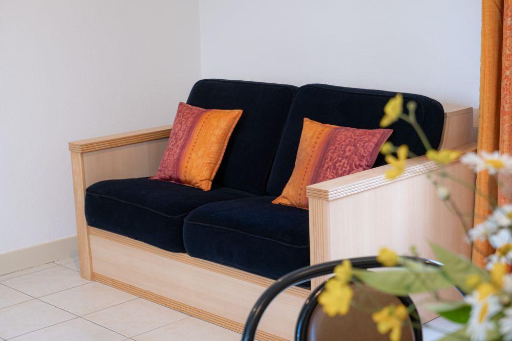 Canapé convertible en lit 2 places
