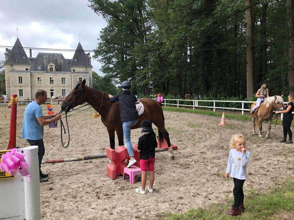 Les enfants et les chevaux - baptême du 04/07/20