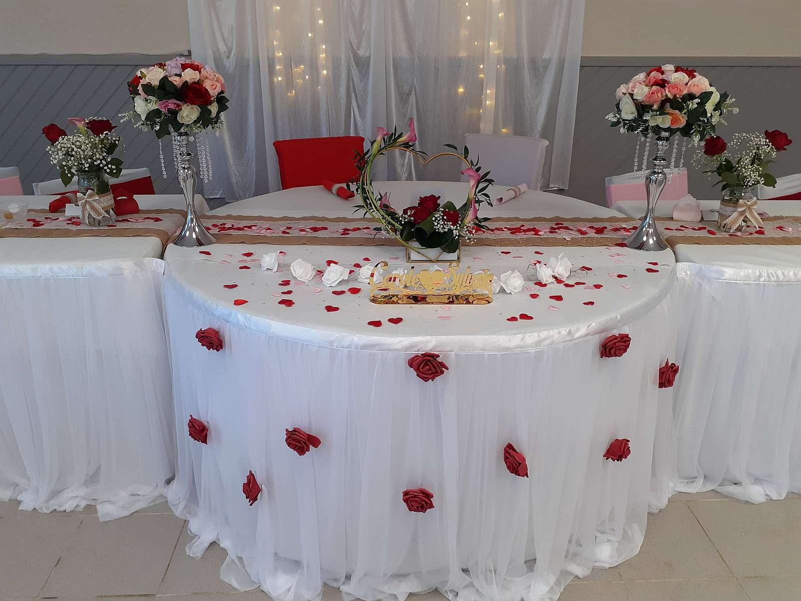 Mariage du 11 Juillet 2020 - La table ronde