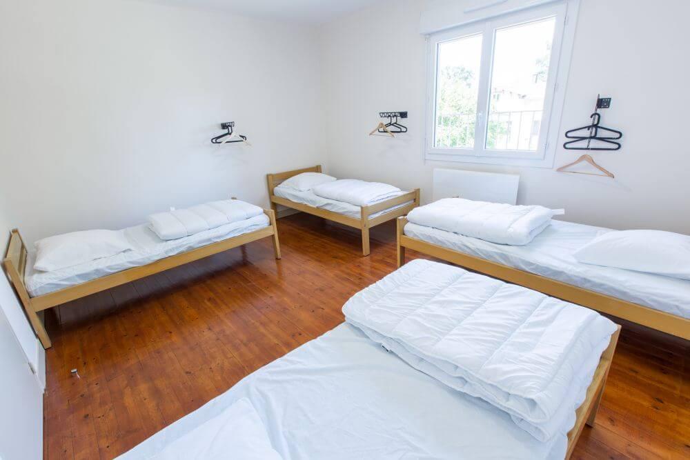Seconde chambre de 4 lits